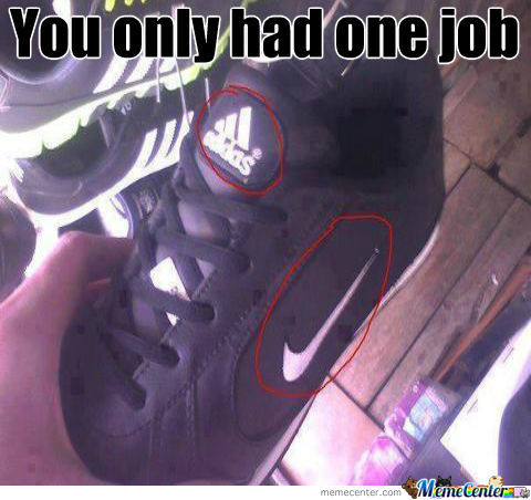Not Sure If Nike Or Adidas