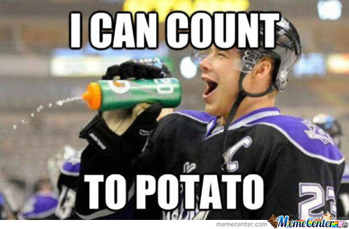 Not Sure If Puck Or Potato