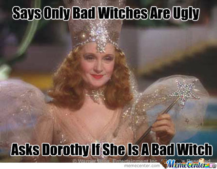 Not Sure If Scumbag Witch Or Trolling Witch
