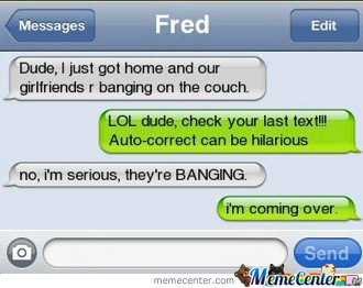 not this time, auto-correct