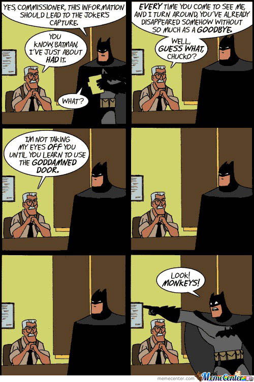Not This Time Batman