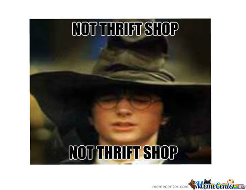 Not Thrift Shop