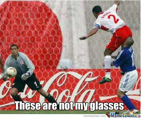 Not Your Glasses