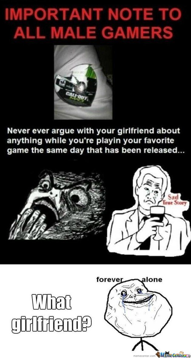 Note All Male Gamers
