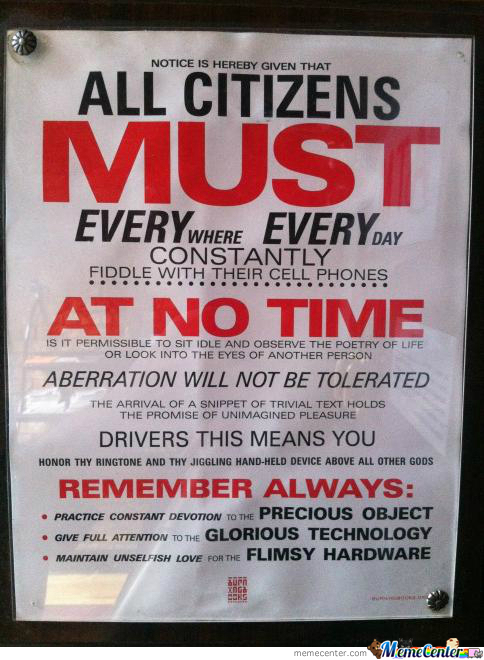 Notice: A Must For All Citizens