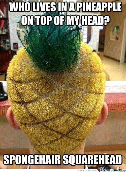 Now That's What I Call... Fruity Haircut