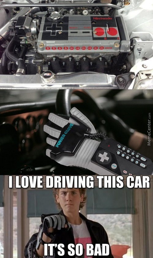 Now You're Driving With Power