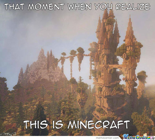 Now You Want To Play Minecraft!