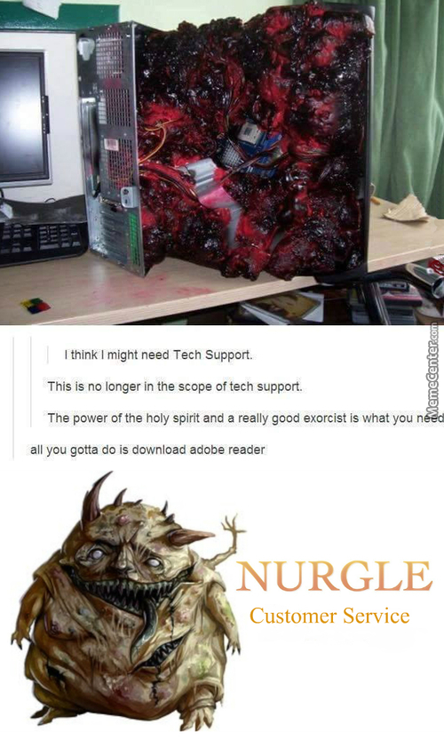 Nurgle Coputing Services. How May I Defile You Today?