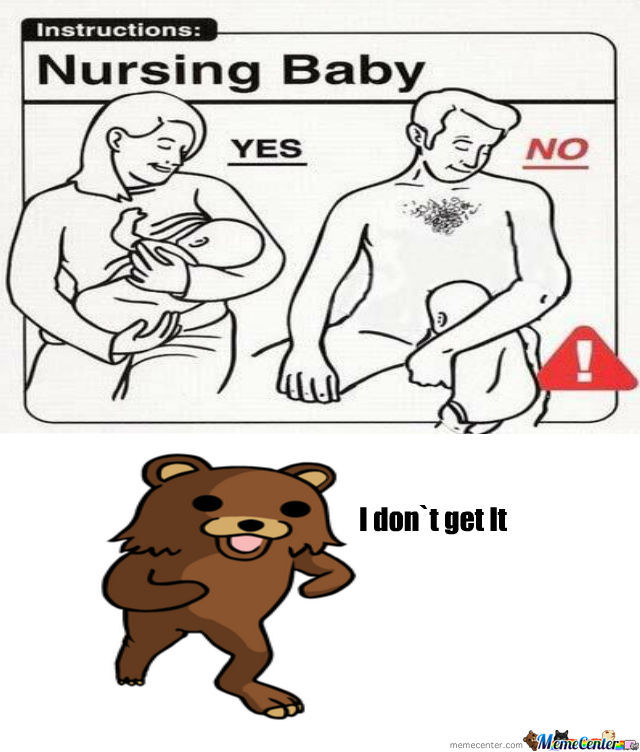 Nursing Baby Instructions