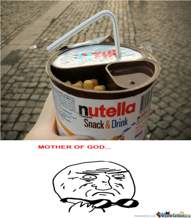 Nutella Snack And Drink!