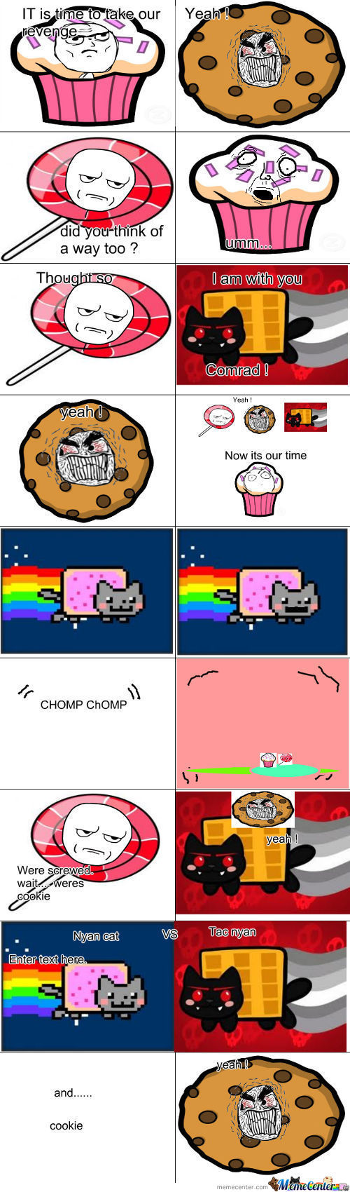 Nyan Cat And His Enemies