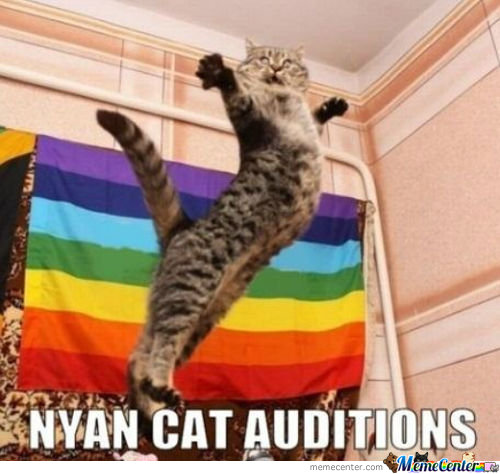 Nyan Cat Auditions