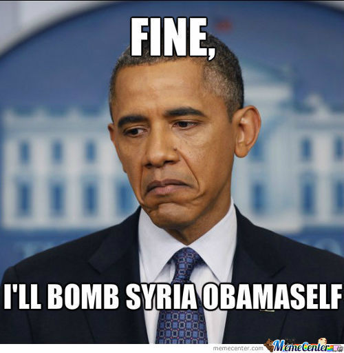 Obama's Reaction.