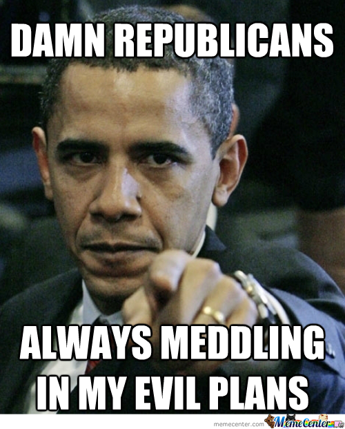 """Obama And Republicans """"i Have A Plan."""""""