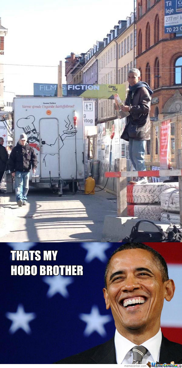Obamas Homeless Brother