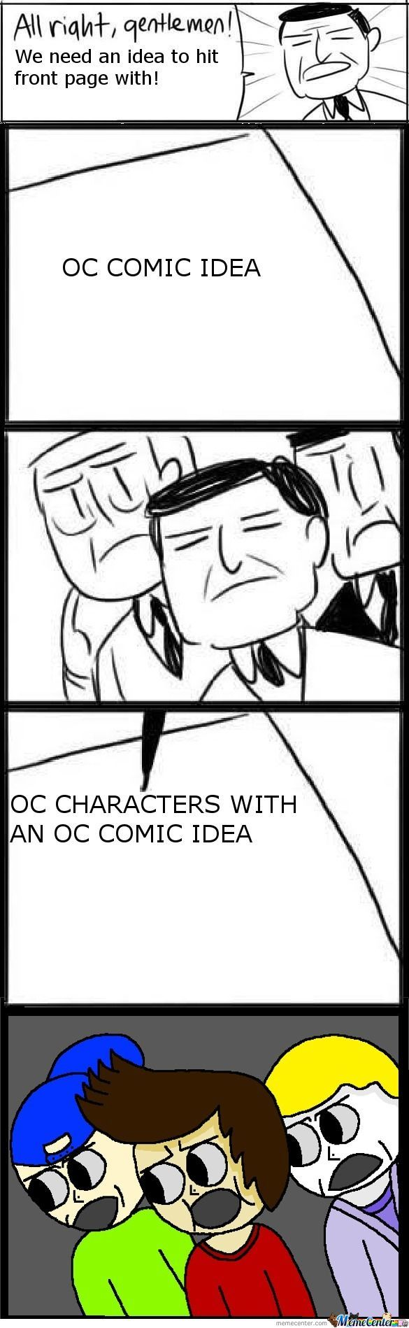 Oc Comics 'n Shit