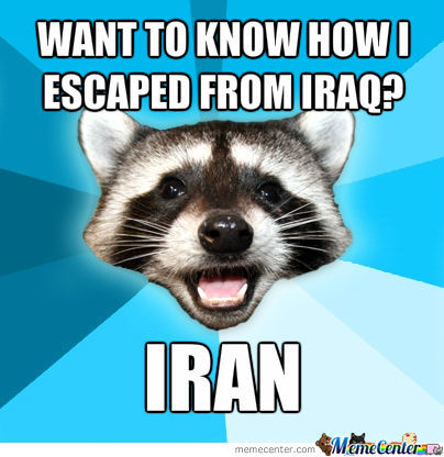 Of Coarse Iran