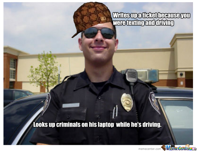 Officer Scumbag