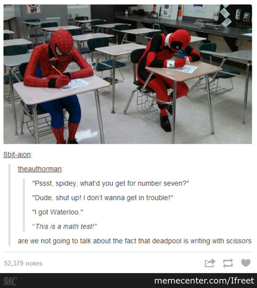 Oh, Deadpool!