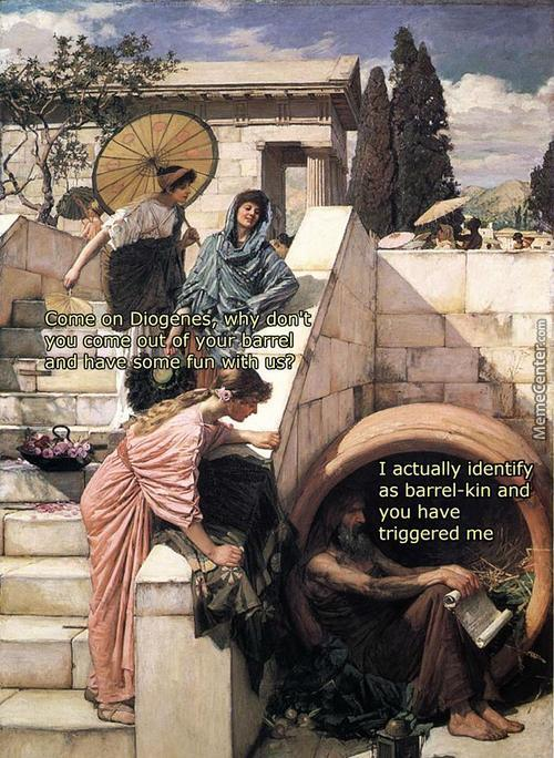 Oh Diogenes, You Silly Goose