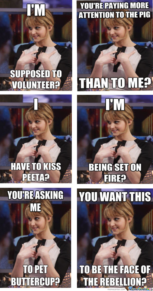 Oh Katniss, You So Funny