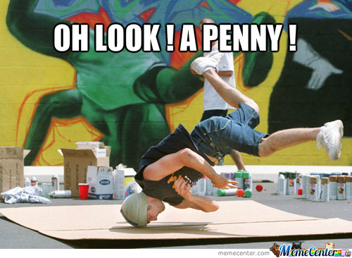 Oh Look, A Penny !