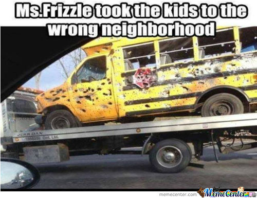 Oh Mr. Frizzle