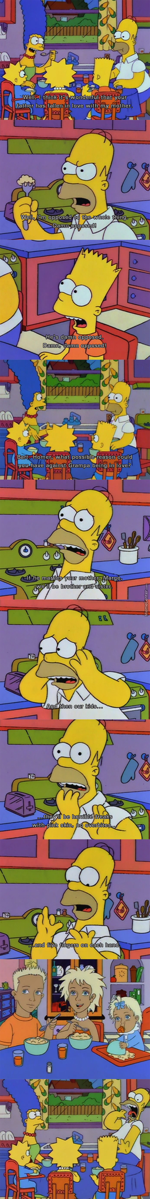 Oh No! Pink Skin, 5 Fingers! Ew! (Simpson)