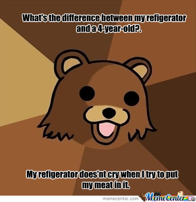 Oh, Pedobear You And Your Erm...funny Jokes