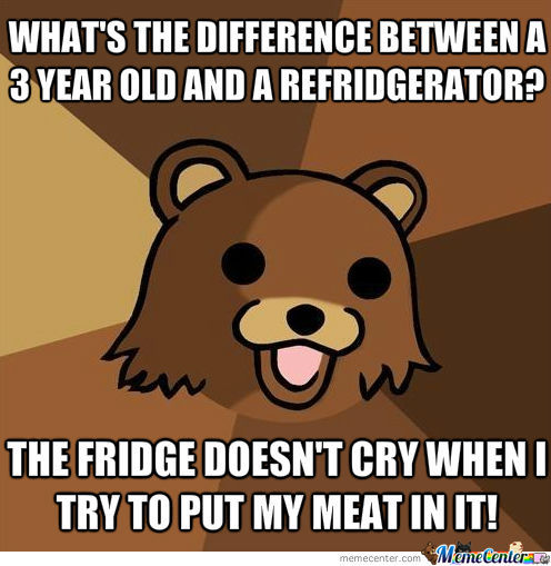 Oh Pedobear, You Rascal!