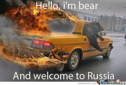 Oh Russia!