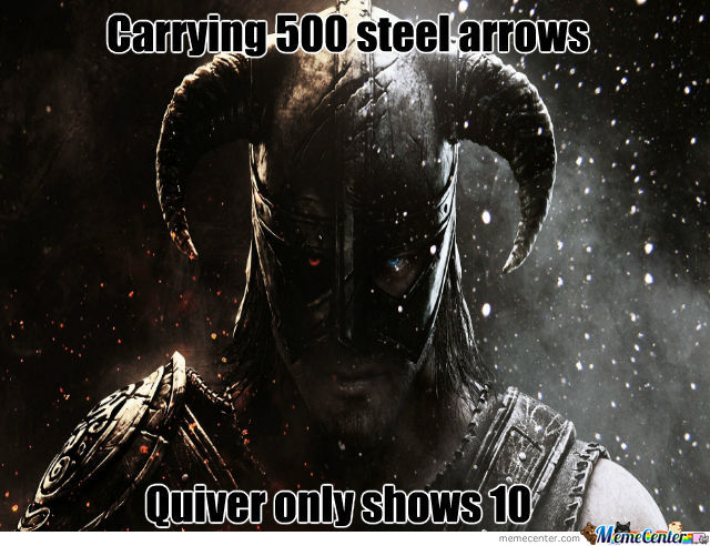 Oh Skyrim, U So Silly!