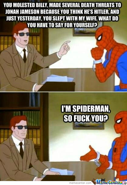 Oh, Spidey!