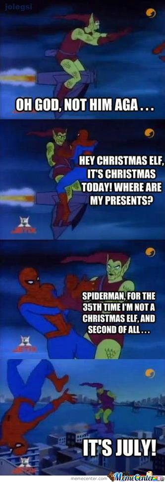 Oh Spidey!