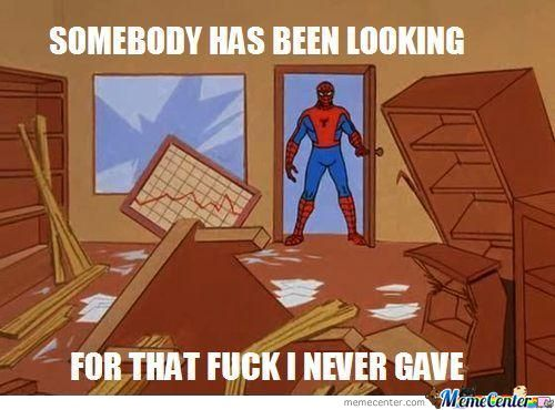 Oh Spidey....