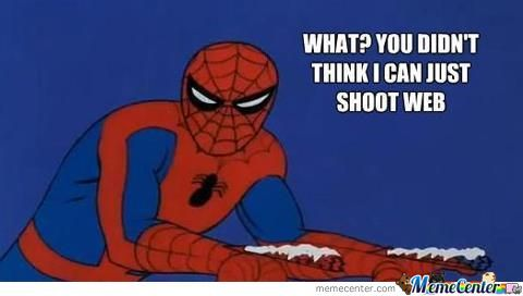 Oh Spidey.....