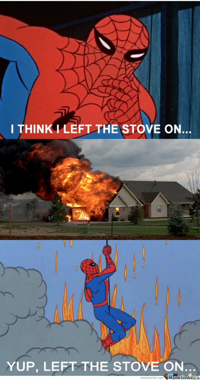 Oh Spidey...