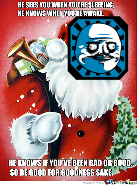 Oh... You Better Not Shout, You Better Not Cry, I'm Telling You Why, Admin Claus Is Coming To Town!
