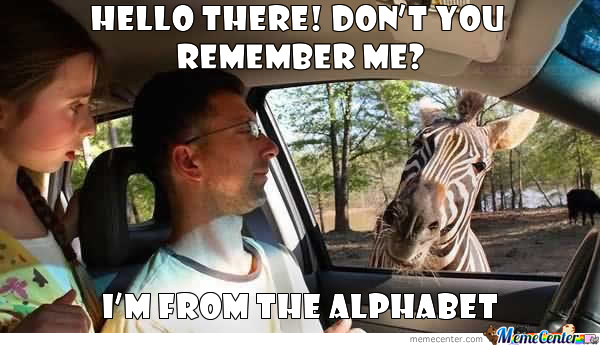Oh You, Zebra!