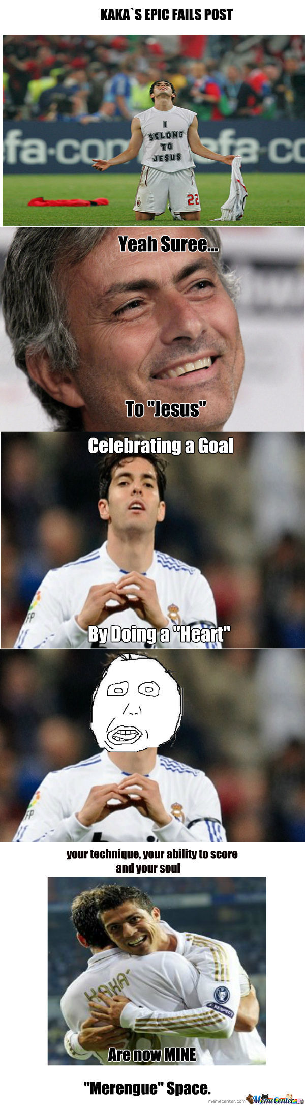 Ohh Kaka... Gtfo Of Madrid!!