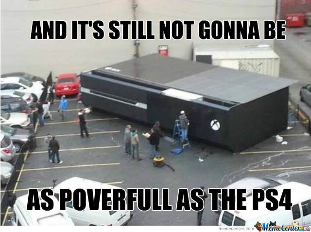 Ok The Console War Is Getting A Bit Old But Still