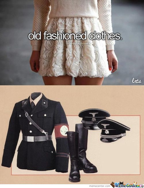 Old Fashoned Clothes