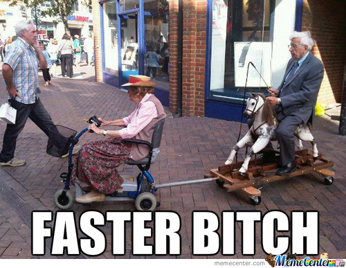 Old People In Our Days ...