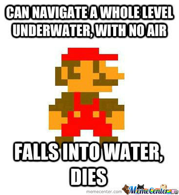 Old School Mario Logic