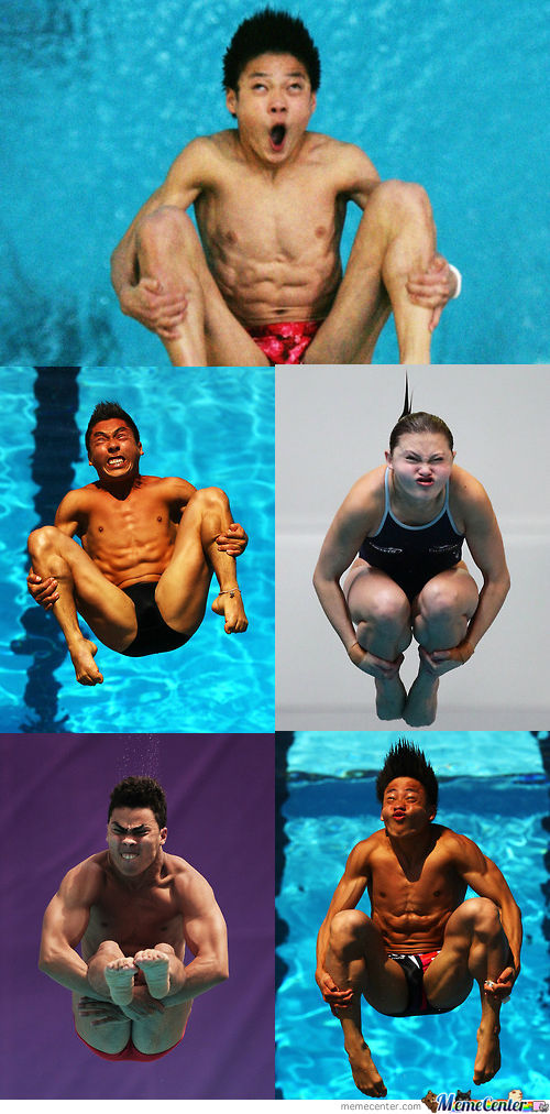 Olympic Dive Derps