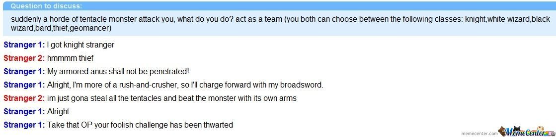 Omegle Roleplay