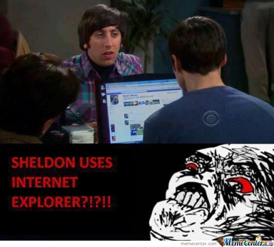 Omg Sheldon , No !!!!