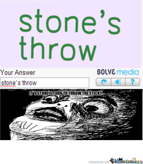 Omg Stone!! Its Your Turn Bro!!