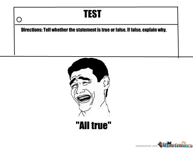 On A Test